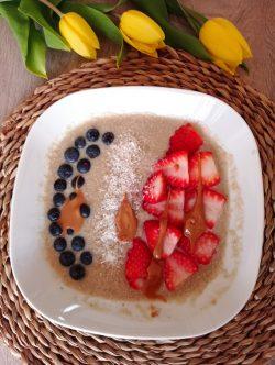 papas quinoa -pequenos almoços, saborosos e nutritivos